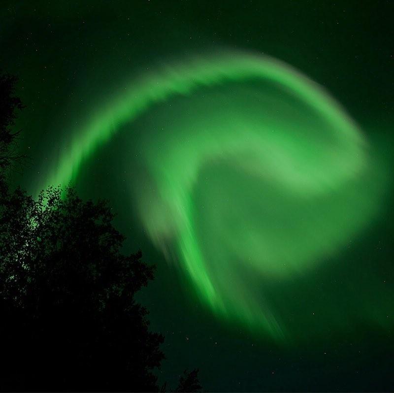 Aurora hunting Lapland