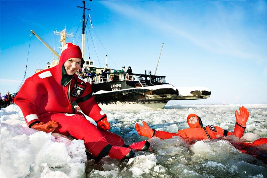Icebreaker Sampo in Kemi