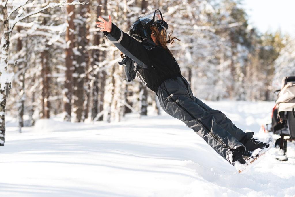 Snow activities in Rovaniemi